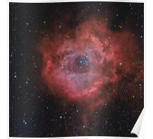 Rosette Nebula in LHaRGB Poster