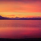 Lake Pukaki sunset by Paul Mercer