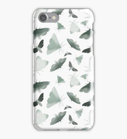 Watercolor Moths iPhone Case/Skin