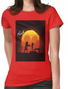 """rick and morty """"you gotta get schwifty"""" Womens Fitted T-Shirt"""