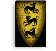 House Clegane Sigil from Game of Thrones Canvas Print