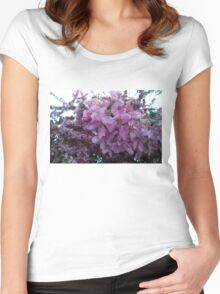 Blossoms.  Women's Fitted Scoop T-Shirt