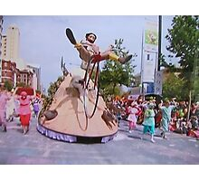 Adelaide Christmas Pageant 2014 Mulga Bill Photographic Print