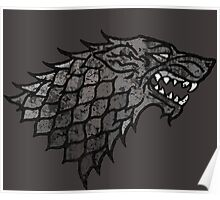 House Stark Sigil from Game of Thrones Poster