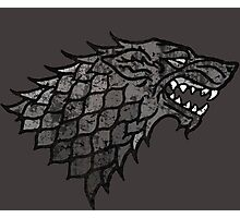 House Stark Sigil from Game of Thrones Photographic Print