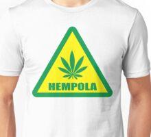 Caution Hempola Marijuana Unisex T-Shirt