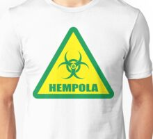 Caution Hempola Unisex T-Shirt