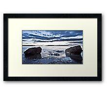 Clifton Beach, Tasmania Framed Print
