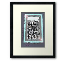 NYC - The fun of exploring Manhattan Framed Print