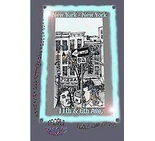 NYC - The fun of exploring Manhattan Photographic Print