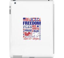 American Patriotic iPad Case/Skin