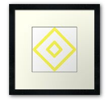 Ryu diamond Framed Print