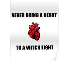 Witch Fight Heart Poster