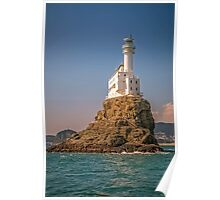 Oryukdo Lighthouse Island, Busan, South Korea Poster