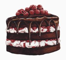 Chocolate Raspberry Cake Kids Clothes