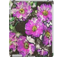 7 DAYS OF SUMMER- DISTRESSED FLORALS 2 iPad Case/Skin