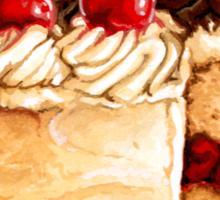 Cherry Cake Sticker
