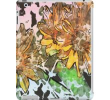 7 DAYS OF SUMMER- DISTRESSED FLORALS/ FLOWERS 3 iPad Case/Skin
