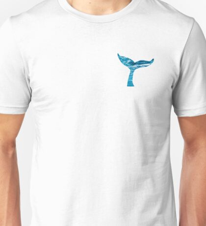 Whale Tail Unisex T-Shirt