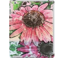 7 DAYS OF SUMMER- DISTRESSED FLORALS/FLOWERS 6 iPad Case/Skin