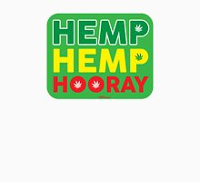 Hemp Hemp Hooray Rasta Rastafarian Green Unisex T-Shirt