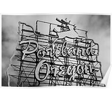 Welcome To Portland Poster