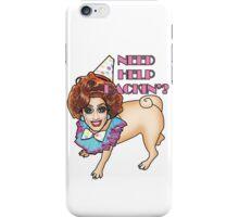 Bianca Del Rio - Pug - Need Help Packin'? iPhone Case/Skin