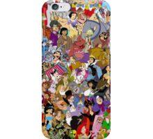 disney classics iPhone Case/Skin