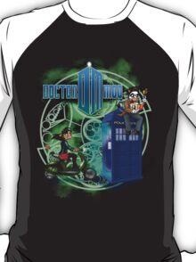 Doctor Moo and Clara -alt T-Shirt