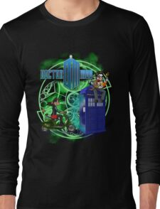 Doctor Moo and Clara -alt Long Sleeve T-Shirt