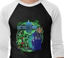 Doctor Moo and Clara -alt Men's Baseball ¾ T-Shirt