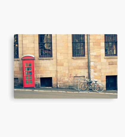 Sydney Phone Booth Canvas Print