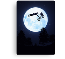 Riding the Kuwahara BMX. Like A Boss! Canvas Print