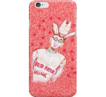 Red Neck HUNK iPhone Case/Skin