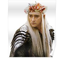Flower Crown Thranduil Poster