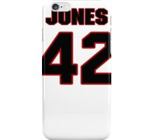 NFL Player Colin Jones fortytwo 42 iPhone Case/Skin