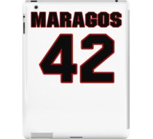 NFL Player Chris Maragos fortytwo 42 iPad Case/Skin