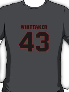 NFL Player Fozzy Whittaker fortythree 43 T-Shirt
