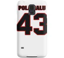 NFL Player Troy Polamalu fortythree 43 Samsung Galaxy Case/Skin