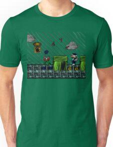 Super Mario 3 World 6 - Ice Land Unisex T-Shirt