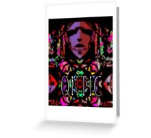 Oktic- psychedelik magik musik Greeting Card