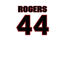 NFL Player Justin Rogers fortyfour 44 Photographic Print