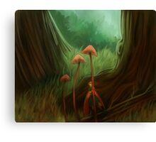 Little fairie Canvas Print