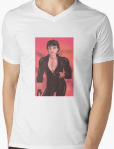 Hannibal - Will Graham as Black Widow Mens V-Neck T-Shirt