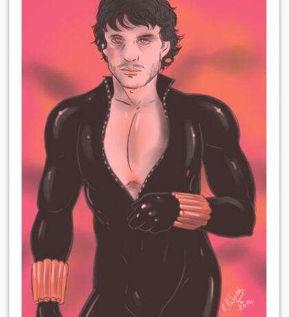 Hannibal - Will Graham as Black Widow Sticker