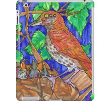 weird thrush iPad Case/Skin