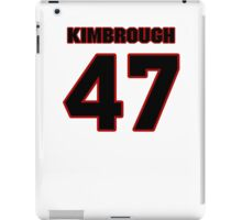 NFL Player Jeremy Kimbrough fortyseven 47 iPad Case/Skin