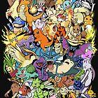 Gen I - Pokemaniacal Colour by Alex Clark