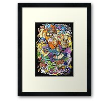 Gen I - Pokemaniacal Colour Framed Print