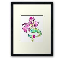 Mystic Mermaid Framed Print